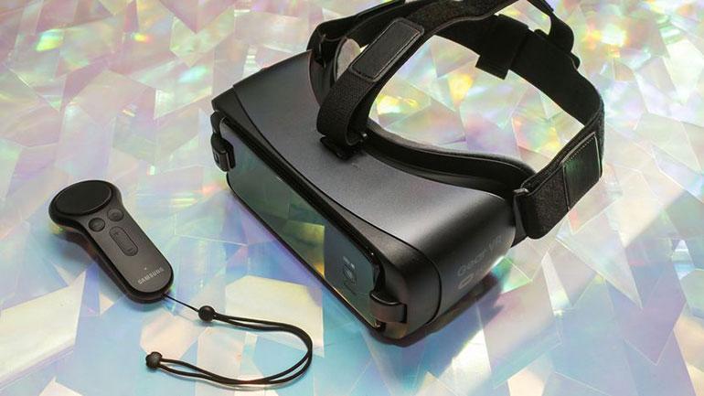 Обзор очков виртуальной реальности Gear VR SM R323 Blue Black от Samsung
