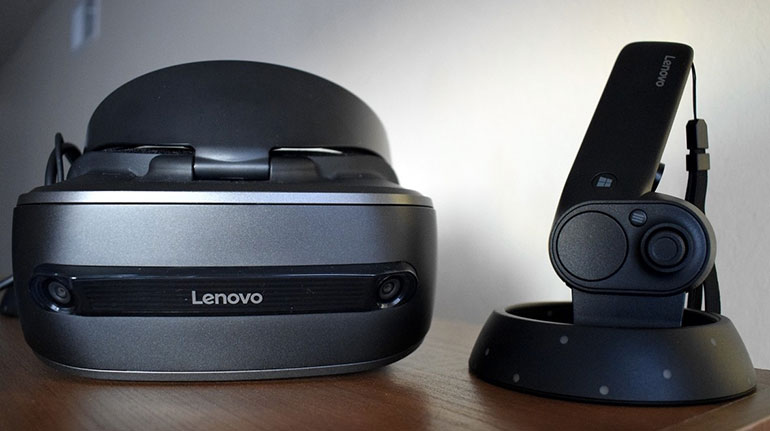 Открытие года: обзор и тесты нового шлема виртуальной реальности Explorer VR от Lenovo