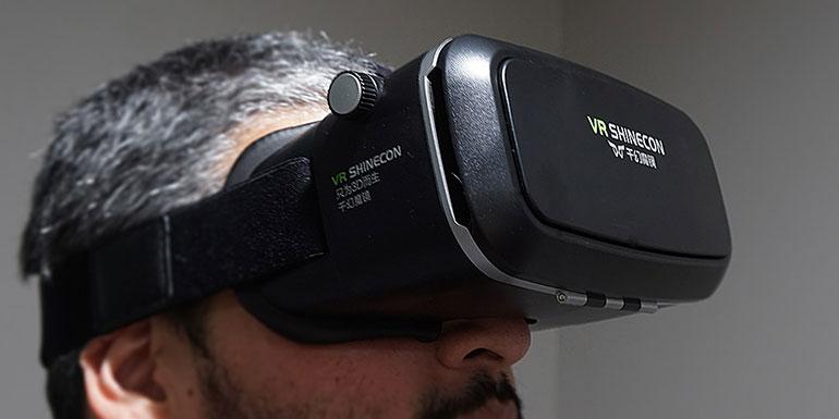 Обзор и длительный тест 3D очков виртуальной реальности VR Shinecon