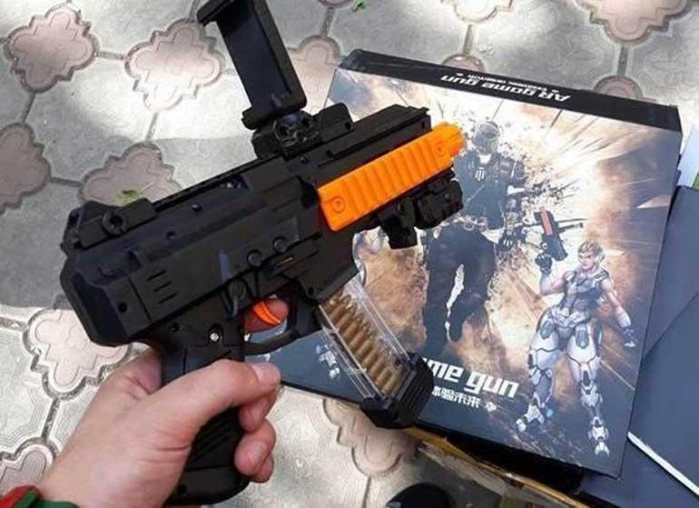 Обзор на интерактивное оружее AR Blaster OAR 004: как работает и стоит ли брать?